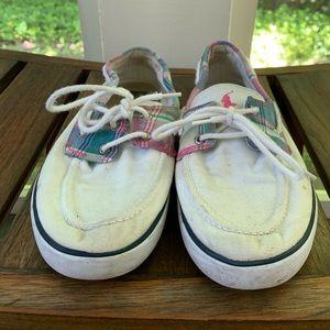 Polo Ralph Lauren slip-on shoes